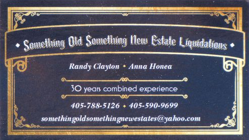 Something Old Something New Estate Liquidations