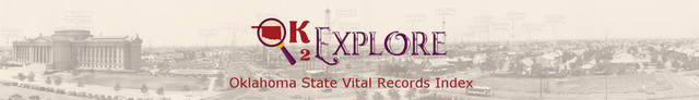 OK2Explore Oklahoma State Vital Records Index